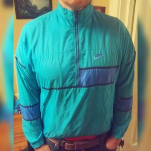 Vintage Men's Nike Colorblocked Windbreaker